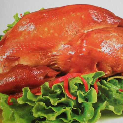 烧鸡夹层锅加工方法和配